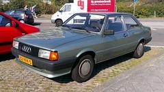 Audi 80 2-Door 1.6 CL (sjoerd.wijsman) Tags: auto holland green cars netherlands car sedan groen nederland thenetherlands denhaag voiture vehicle holanda autos audi 80 saloon paysbas berline olanda fahrzeug niederlande zuidholland kijkduin audi80 acar carspotting berlina denhaagkijkduin carspot 2deurs sidecode7 82rfk5