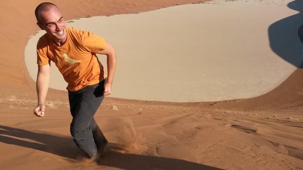 Mike , Sossuvlei, Namibia