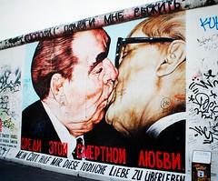 Der Bruderkuss (ekelly80) Tags: summer streetart berlin art wall germany kiss murals urbanart berlinwall eastsidegallery leonidbrezhnev dmitrivrubel erichonecker derbruderkuss june2014