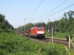 DBS 189 076-9 te Elten, 22-07-14 (Danil de Ruig) Tags: nederland db loc dbs elten schenker emmerich autotrein
