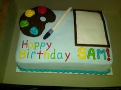 Art cake by Jessica, Linn County IA, www.birthdayckes4free.com