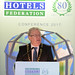 IHF President Joe Dolan addresses the conference