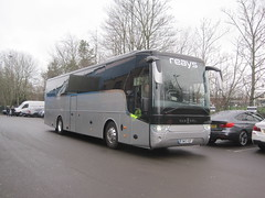Reays Coaches SW13 VDF. Carlisle United FC, Brunton Park (captaindeltic55) Tags: reays reayscoaches
