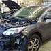 Nissan Qashquai en tôlerie pour démontage, peinture sur le capot et le pare-chocs avant. Carrosserie inter-union - 53 route de suisse, 1295 Mies Tél.022 755 45 30 - Fax. 022 779 03 28 Site internet: www.interunion.ch