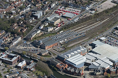Norwich Railway Station - aerial image (John D F) Tags: railway station norwich railwaystation norfolk aerial aerialphotography aerialimage aerialphotograph aerialimagesuk aerialview thorpe britainfromabove britainfromtheair viewfromplane droneview highdefinition hidef highresolution hires hirez
