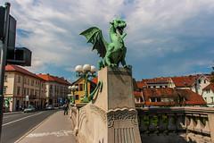 IMG_9819 (ludo.depotter) Tags: ljubljana ljubljanica slovenië drakenbrug