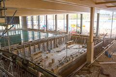01/04/17 (Dave.Kirwin) Tags: flemingpark eastleighboroughcouncil eastleigh development building construction constructionwork hampshire swimmingpool sportscentre sport build