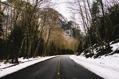Chief (eric.vanryswyk) Tags: stawamus chief squamish british columbia canada sea to sky corridor clouds snow ice dark moody forest moss swamp mountain mountains cliff cliffs rainforest road tarmac countryside landscape serene nikon d610 nikkor 20mm f18