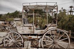 2017_03_10 Furnace Creek, CA._13PSETZ (Walt Barnes) Tags: furnacecreek deathvalley weathered calif coach stagecoach wagon canon eos 60d eos60d canoneos60d wdbones99 topazsoftware pse15