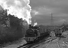 Tanfield Railway 'Coals to Newcastle' 26/02/2017 (TomNoble7) Tags: joiceycollieries easttanfield tanfieldrailway twizell coalstonewcastle ncb marleyhillengineshed