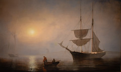 Fitz Henry Lane - Ship Fog Gloucester Harbor, 1860 at Princeton Art Museum Princeton NJ (mbell1975) Tags: american princeton newjersey unitedstates us fitz henry lane ship fog gloucester harbor 1860 art museum nj museo musée musee muzeum museu musum müze finearts fine arts gallery gallerie beauxarts beaux galleria painting