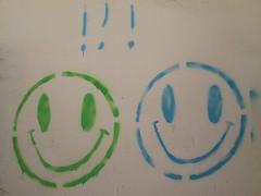 20160818_004 (a1pha_gr) Tags: greece macedonia thessaloniki ελλάδα μακεδονία θεσσαλονίκη γκράφιτι στένσιλ τοίχοσ χαμόγελο χρώμα graffiti stencil wall smile colours πράσινο μπλε green blue