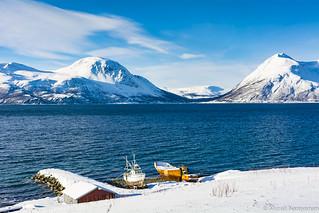 Fishing Boats along Ullsfjord