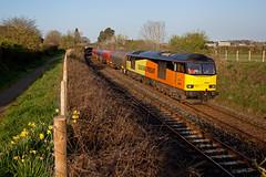 Worth The Daffed O'Clock Start (Richie B.) Tags: 6s36 dalston cumbria colas rail british brush traction procor mirrlees class 60 60026