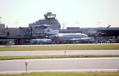 Chicago Midway Airport - ATA - 727 (twa1049g) Tags: chicago midway airport tower ata boeing 727