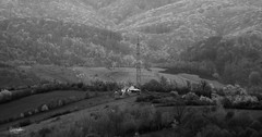 Outpost (cristiansamoilescu) Tags: black white nikon d7200 sigma 70200mm f28 hills valley forest wild wilderness romania salas house farm outpost firewatch lonely nature landscape silence