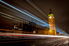 London 倫敦 (T.ye) Tags: london big ben landmark 倫敦 light track night england trail