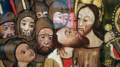 Maundy Thursday IV - Christ is Betrayed (Lawrence OP) Tags: agonyinthegarden maundy thursday triduum betrayal kiss judas jesuschrist soldiers medieval fitzwilliam museum cambridge