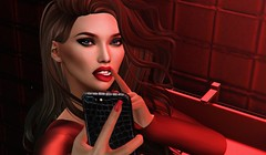 The bathroom selfie (3XIS) Tags: anxiety blog blogger blogging closeup exis genesislab photography portrait red secondlife selfie sexy thechapterfour theepiphany truth