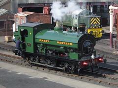 IMG_4797 - GWR Hudswell Clarke Saddle Tank 813 (SVREnthusiast) Tags: didcotrailwaycentre didcot railway centre gwrhudswellclarkesaddletank813 gwr hudswellclarke saddletank 813