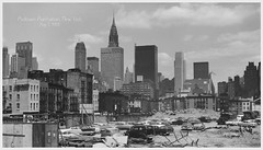 New York in the 1961, May 5 (cobravictor) Tags: 1961 newyorkcity ny nyc midtownmanhattan skyline skyscrapers chryslerbuilding cars may 5 cityscape