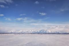 Still Winter (frostnip907) Tags: mountains winter alaska snow tundra windswept bigsky white blue arctic