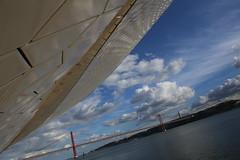 IMG_3489 (AndyMc87) Tags: lisboa lissabon lisbon ponte 25th abril river clouds sky reflection water portugal bridge hängebrücke sailor architecture art canon eos 6d 2470 l