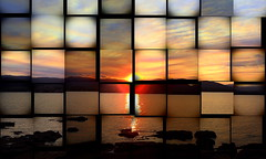An ABSTRACT Sunset (Lani Elliott) Tags: lanielliott lani elliottlani sunset sky skies cloud clouds tasmaniansunset abstract light bright glowing radiant
