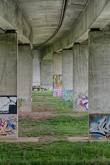 Under the bridge 2 (twan-k5) Tags: arnhem brug pley
