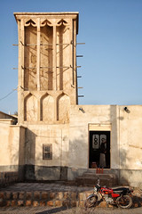 Wind tower, Qeshm Island, Laft, Persian Gulf- Iran (MeriMena) Tags: island tower persian canon450d qeshm traditional rural merimena wind asia gulf iran canon architecture village travel