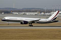 N757MA MidEast Jet 757-24Q Munich 16/02/2017 (Tu154Dave) Tags: muc munich germany boeing 757 757200 75724q n757ma corporate mideastjet airport aircraft