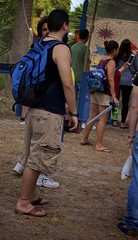 Blue backpacker (LarryJay99 ) Tags: armpits arms backpack barefoot beard blue candida cargopants deerfieldbeach dude dudes festival festivals flipflops florida guy guys hairylegs jeans lake legs male man men nape outside park pedestrian people quietwaterspark renaissancefestival smallwater sunlight tanktop toes unaware unsuspecting urban westpalmbeach palmbeach urbanbackpacker hips barfuss tabletop shoulders crowded braghettoni
