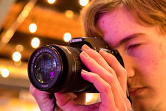 Spying (kim-chin-gibbons) Tags: canon yea twinkle hydroponic park lights blur light capturing crew