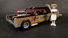 """'67 Hurst """"Hairy"""" Oldsmobile (rabidnovaracer) Tags: lego hurst oldsmobile cutlass 442 lindavaughn misshurst hairy car muscle"""