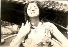 Városliget (Ferencdiak) Tags: woman budapest hungary boating városliget tó csónakázás nő portré haj híd