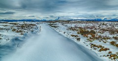 From Stølsvidda (tods_photo) Tags: ifttt 500px sky landscape mountains winter cold blue sun clouds road white snow mountain ice scenery