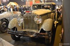 Isotta Fraschini Tipo 8A by Castagna 1931 (Monde-Auto Passion Photos) Tags: auto automobile voiture vehicule isottafraschini tipo castagna rare rareté ancienne collection france paris retromobile evenement