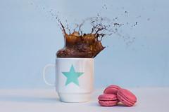 14/52 Splashy afternoon (Nathalie Le Bris) Tags: splash stilllife tasse