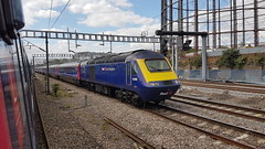 First Great Western 43186 (with 43155). 1C18 1430 London Paddington - Weston-super-Mare. Ladborke Grove. 13th April 2017 (Ajax46.) Tags: firstgreatwestern 43186 ladbrokegrove 43155leading 1c181430londonpaddingtontowestonsupermare 13thapril2017