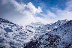 Vue sur Val Thorens (nicolas.carere) Tags: les3vallees winter sky cloudy frenchalps d810 nikon nikond810 lesmenuires