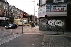 CTR, Enamo, Bean... (Alex Ellison) Tags: ctr shop store shutter urban graffiti graff boobs