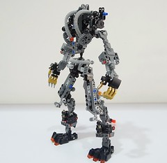 jinrohframe (chubbybots) Tags: lego mech wolf bionicle herofactory