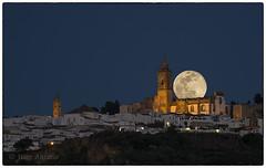 Luna Medina Sidonia (juangaran) Tags: luna noche night moon medina sidonia cadiz andalucia españa