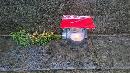 Stupa offering, Harewood, UK, jcw1967, 28012017 (1)