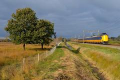 NS ICM 4210, 4066 en 4060 te Stuifzand, 19-10-16 (Daniël de Ruig) Tags: ns icm koploper intercity groningen drenthe pesse nederlandsespoorwegen