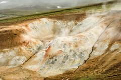 Iceland (webeagle12) Tags: iceland nikon d7200 europe mountains landscape vegetation rocks nature mountain earth planet reykjahlíð north krafla volcanic lava fields volcano