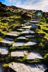 Salita (Marta Marcato) Tags: connemara park nationalpark green grass stone rocks path walk walking hdr sky parco verde erba roccia pietra sentiero cammino passeggiata cielo nikond7200 irlanda ireland