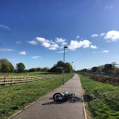 Balgreen cycle path