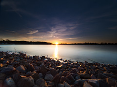 Round Lake Sunset (MacDonald_Photo) Tags: jamieamacdonald sl33stak zd lightroom oly olympus zuiko eatonrapids michigan getolympus omd omdem1mkii μ43photography μ43 em1mkii omdem1markii nisi nisifilters vanguardalta mzuiko714mmf28pro 714mm lake sunset roundlakejacksonmichigan