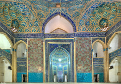 Jameh Mosque of Yazd, Iran (Calim*) Tags: iran mosque islam muslim yazd persia architecture religiousarchitecture persianarchitecture